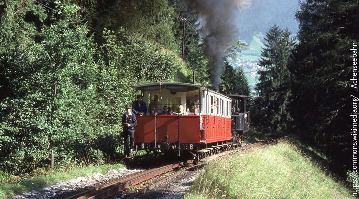 https://commons.wikimedia.org/     Achenseebahn